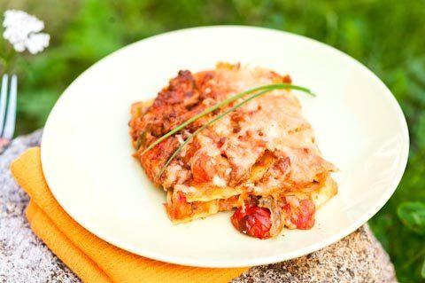 Texmex-lasagne