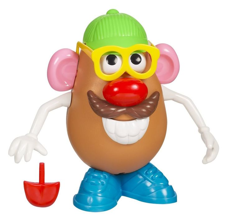 Mr Potato Head - one of the best presents our toddler ever got. So many ways to play with it.