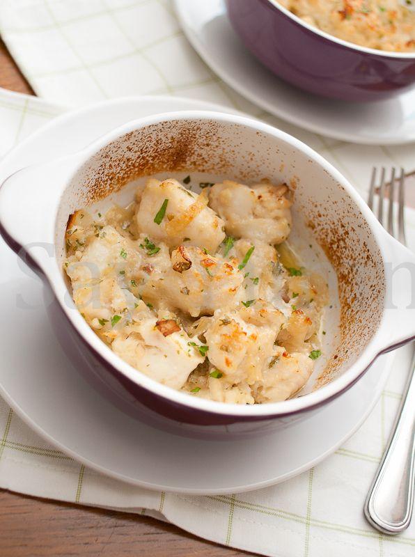 I bocconcini di filetto di merluzzo al gratin sono un rapido secondo che piacerà a tutti. Potete usare sia il filetto di merluzzo fresco sia surgelato.
