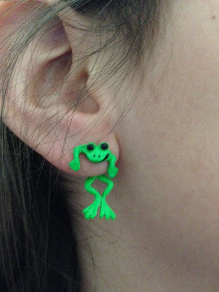 really cool earrings beautify themselves with earrings