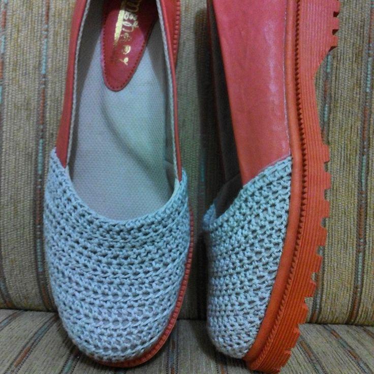 Crochet shoes...