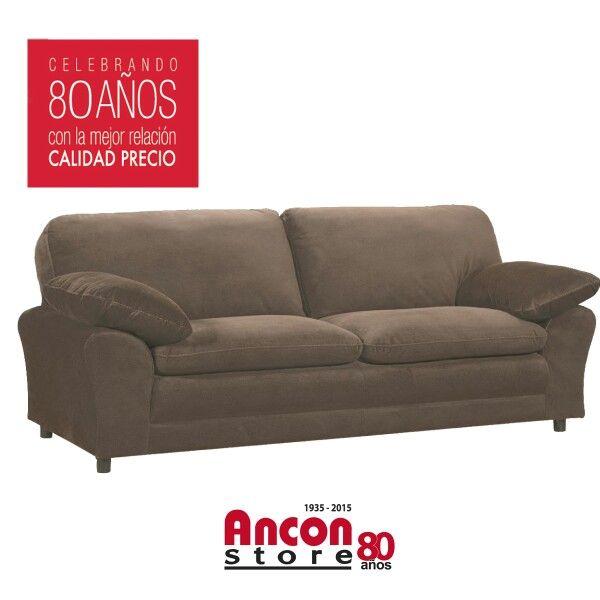 Simple y c modo sof de dos cuerpos anconstore panam for Sofa cama de dos cuerpos