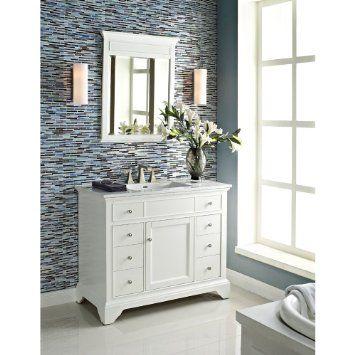 Fairmont Designs 42 Inch Framingham Vanity - Polar White