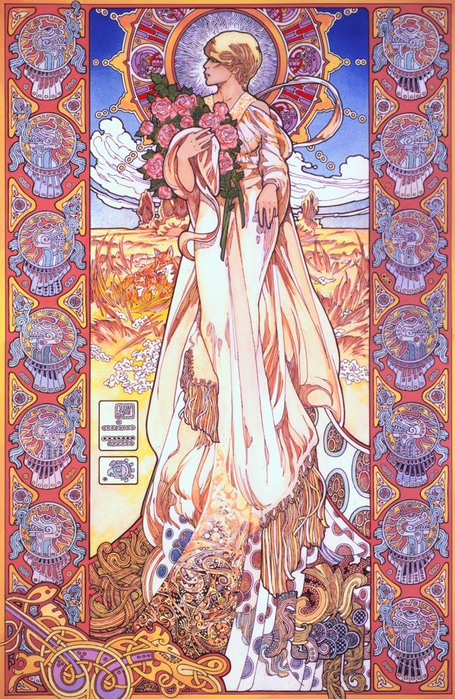 Sionnach - Irish Fox Goddess by Jim FitzPatrick