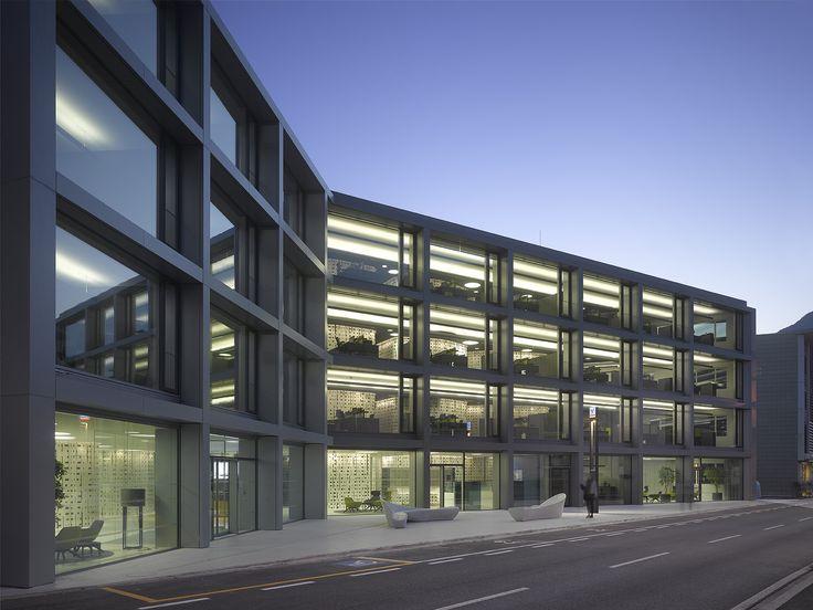 best architects architektur award // Christian Rübbert Architekt und ARGE INNOCAD / bergundtal / Christian Rübbert Architekt und ARGE INNOCAD / bergundtal / HQ VOLKSBANK SÜDTIROL / Büro- & Verwaltungsbauten