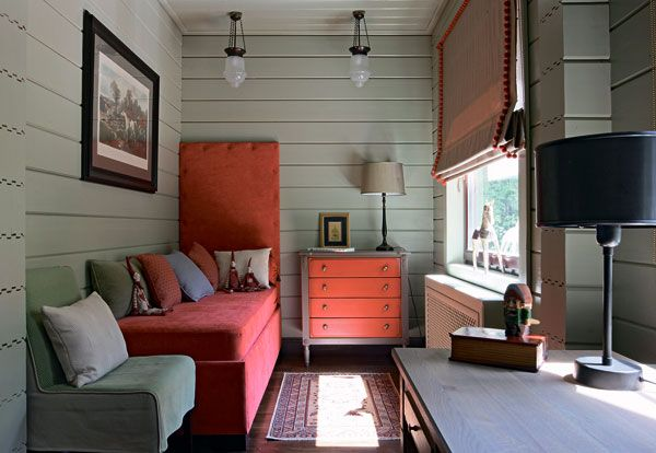 Двухэтажный коттедж из клееного соснового бруса | Дома из клееного бруса | Журнал «Деревянные дома»
