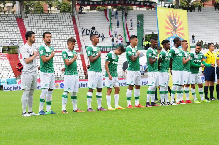 #VamosPorLa10 Imágenes de nuestra victoria ante Once Caldas en el estadio Palogrande   Más: http://wp.me/p7aBI0-dV9  #CaliSomosUno