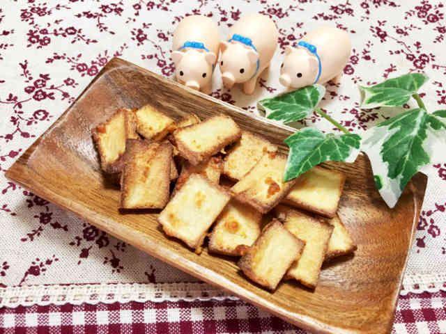 ダイエットおやつ★高野豆腐チーズスナックの画像