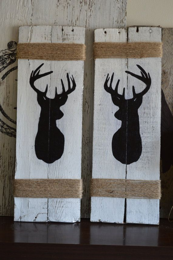 Hey, I found this really awesome Etsy listing at https://www.etsy.com/listing/179983515/rustic-buck-deer-art-handmade-from