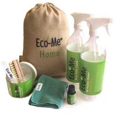 Ever thought about making your own cleaning products that are better for the environment ?