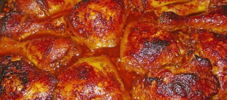 Balinese kipschotel uit de oven