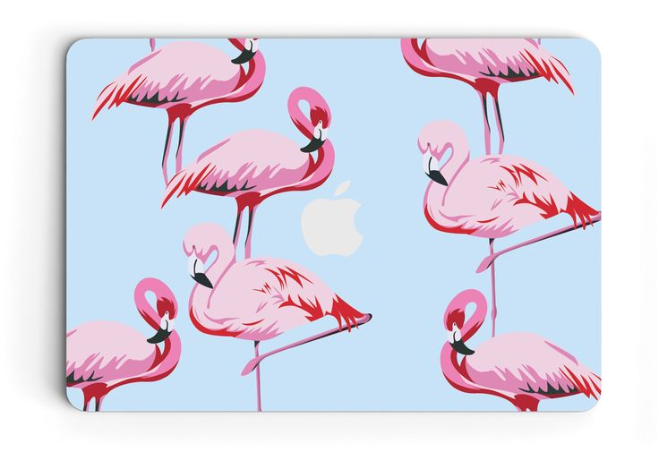 Flamingo Laptop Skin for Apple MacBook Pro and MacBook Air - vinyl sticker decal covers.