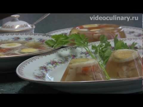 Рецепт - Холодец от видеокулинария.рф