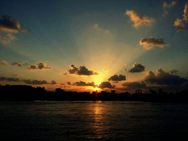 Sunset by subira mombo