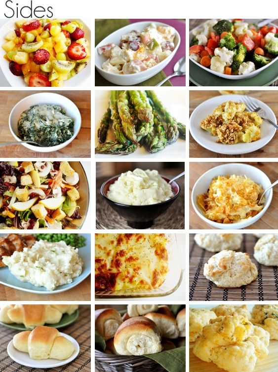 Easter Dinner Meal Ideas (main dish, sides, and dessert!!)