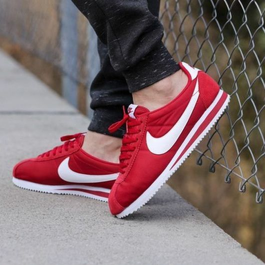 Nike Cortez Red Suede