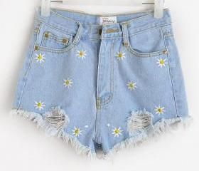 daisy shorts- these are adorable, not an essential but so cute