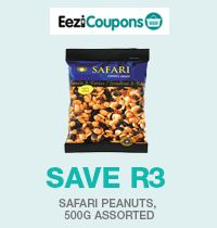 Everyone needs nibbles at any time. Stay healthy with assorted Safari peanuts at great value. #Checkers - better and better!