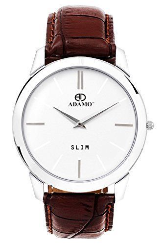 Buy the latest ADAMO Analogue White Dial Men's Watch -AD64BR01 Online in India at affordable price.