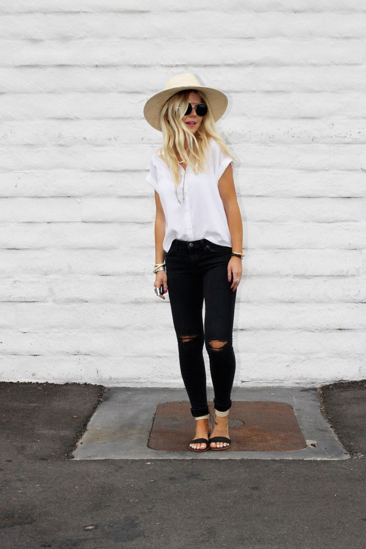 Round up of the best white tops for spring and summer.