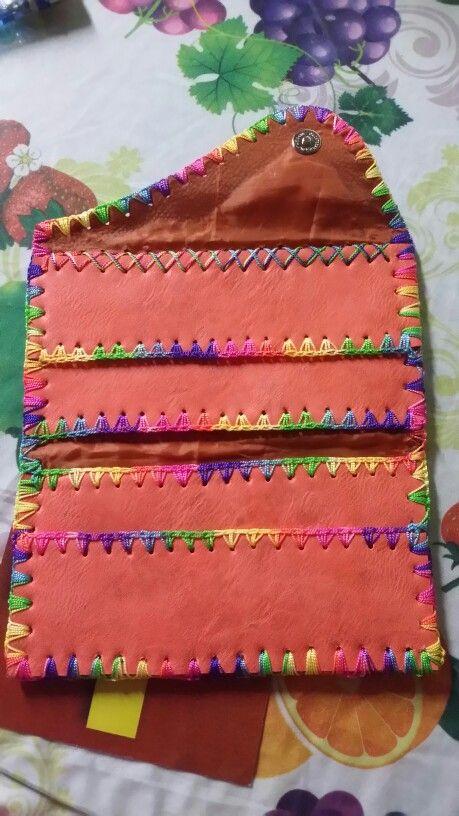 Billetera crocheteada