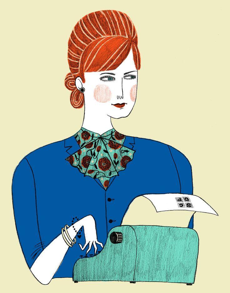 Joan Holloway Harris by Ellen Surrey.