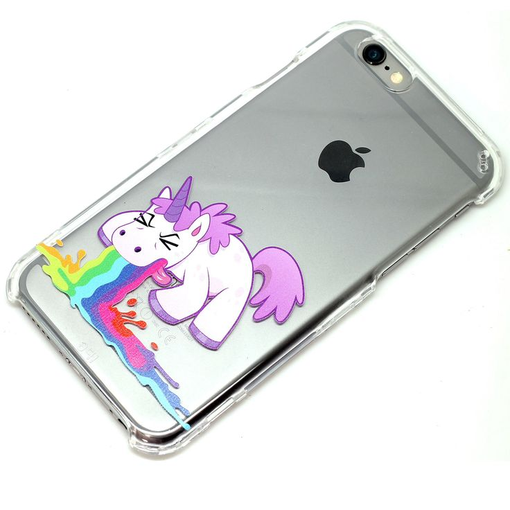 Unicorn Barf Throw Up Clear Phone Case iPhone 6, SE, 6 Plus, 6S, 5, 5C, 5S, Galaxy S6, S7, Note 4, Note 5 Cute Phone Cases by ClashCases on Etsy https://www.etsy.com/listing/243763339/unicorn-barf-throw-up-clear-phone-case