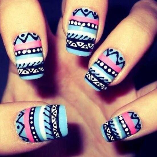 tumblr-tribal nails