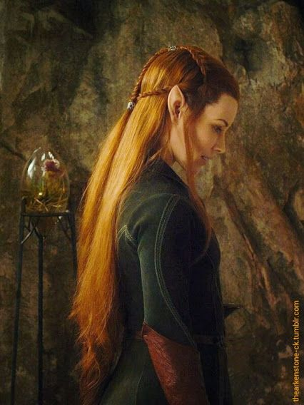 Tauriel - the best person not really in the Hobbit so far (except for Legolas;)