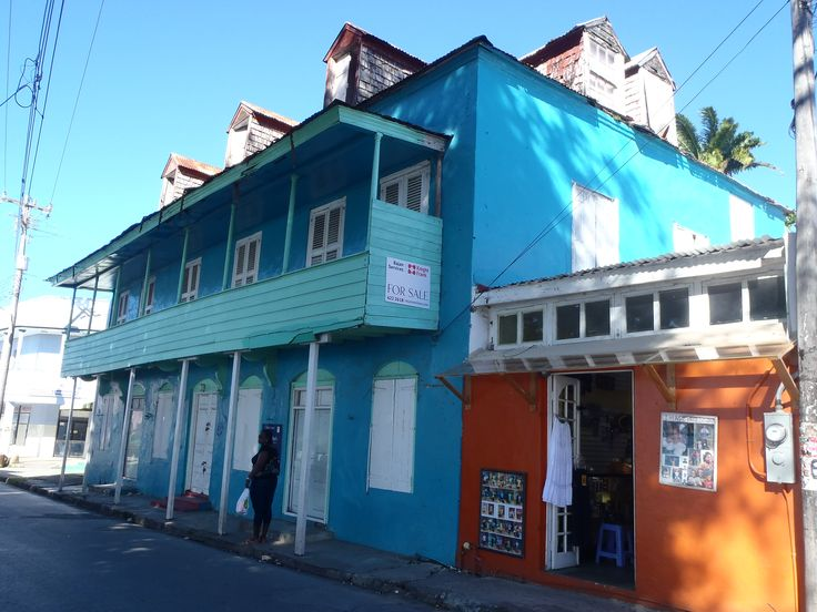 An históric building in Speightstown.