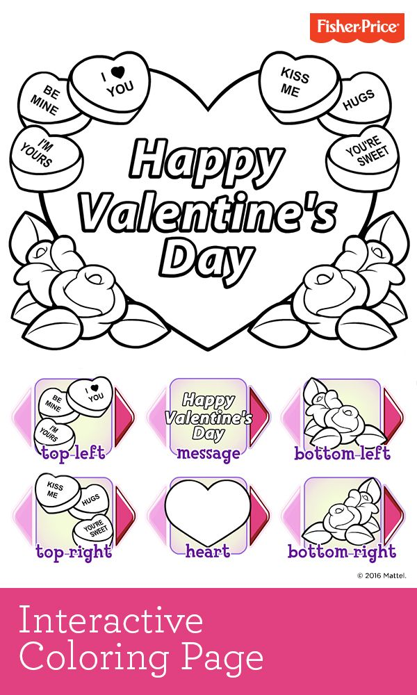 help your little sweetie get ready for valentines day with this cute customizable coloring page