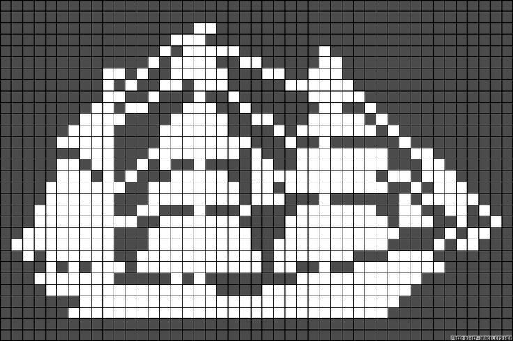 Miniature ship cross stitch chart / cross stitch pattern - but may also be used for: crochet, knitting motifs, knotting, loom beading, Perler beading, weaving and tapestry design, pixel art, micro macrame, friendship bracelets, and anything involving the use of a charted pattern.
