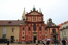 Praga - Basílica de San Jorge.