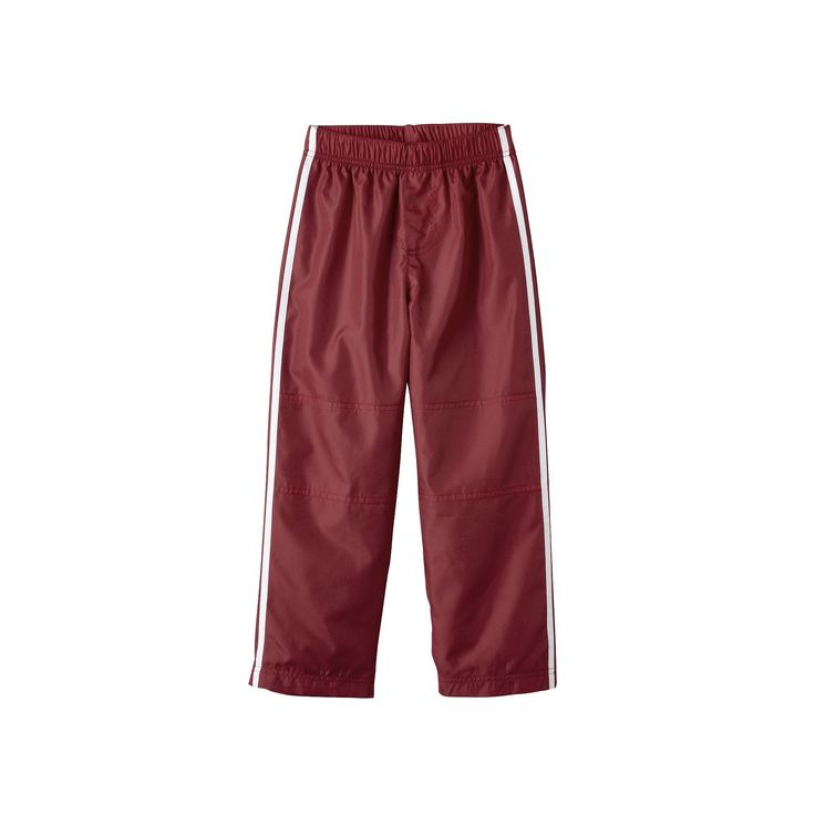 Boys 4-7 French Toast Track Pants, Boy's, Size: 5, Dark Red