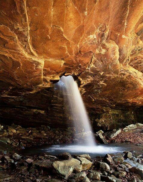 Glory Hole Waterfall, Arkansas
