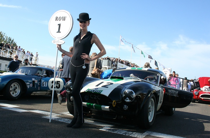 Ludovic Caron and  his AC Cobra CSX2127