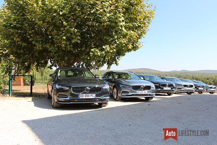 Essai : Volvo S90 et V90