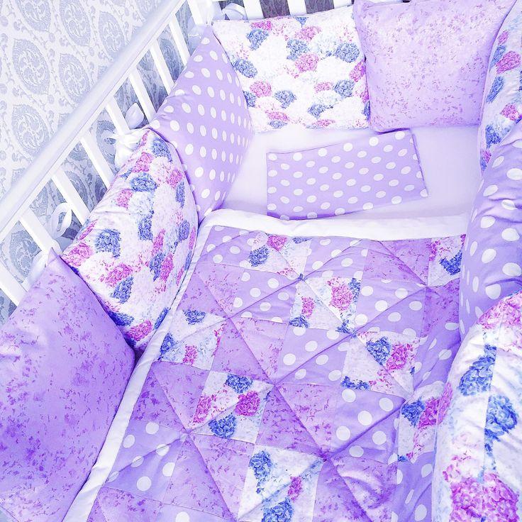 Купить Комплект в кроватку - комплект в кроватку, бортики в кроватку, бортики подушки, бортики в детскую кровать