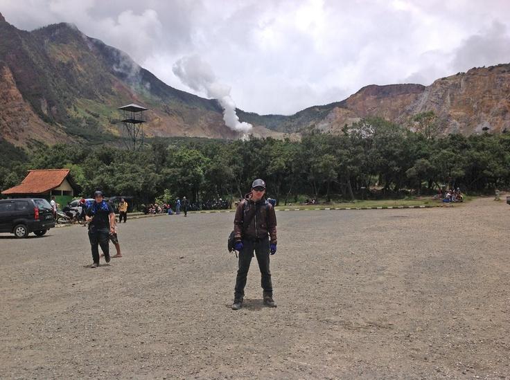 Basecamp, Papandayan Volcano, West Java, Indonesia