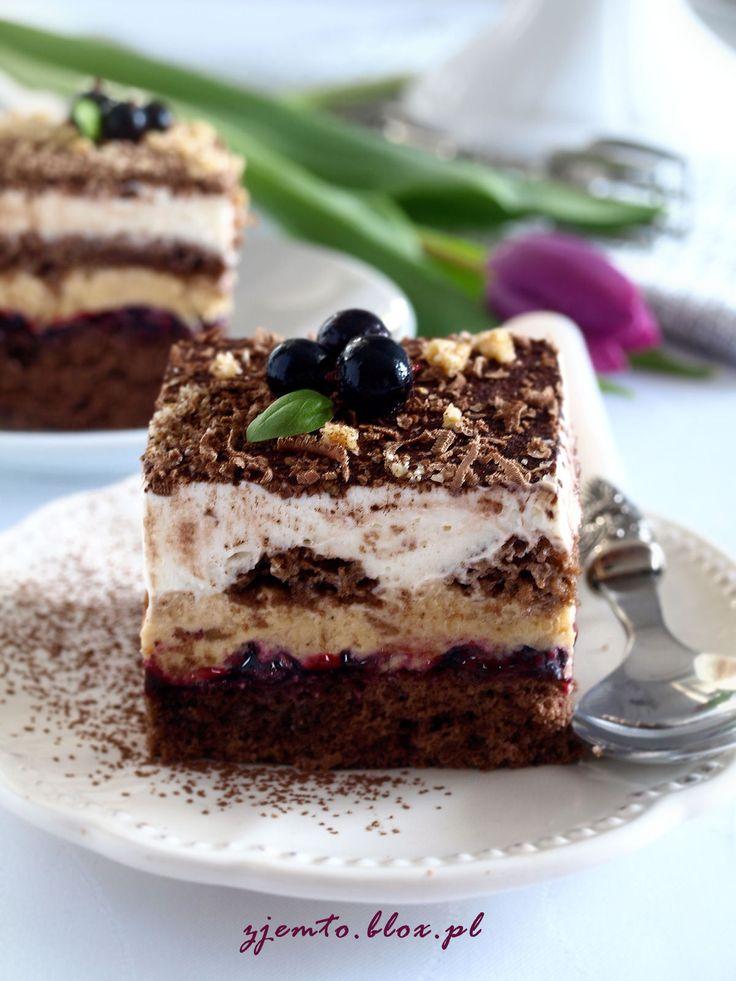 торт с кремом из семян кунжута