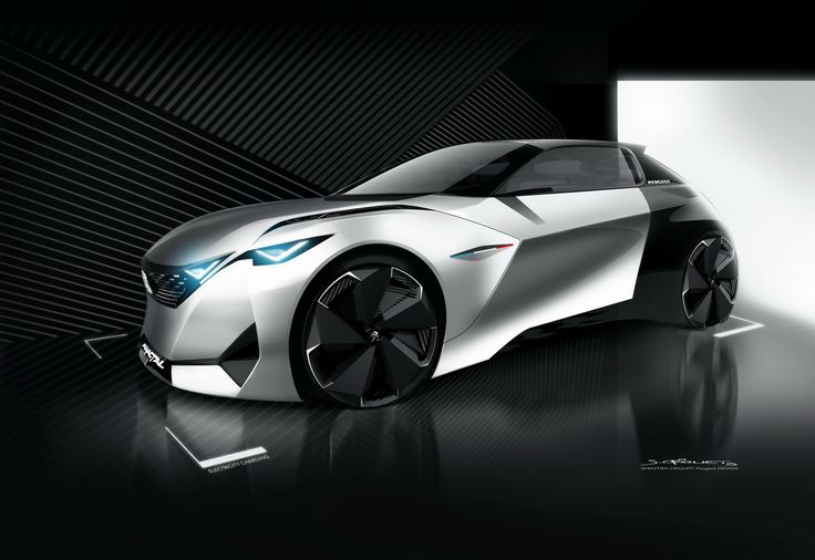 Peugeot Coupe Cabriolet Fractal Is A 201HP Electric http://newcarsmodels2016.com/peugeot-coupe-cabriolet-fractal-is-a-201hp-electric/  Pursuing yesterday's leaked photographs, Peugeot has officially unveiled the Fractal concept before its world debut at the Frankfurt Electric motor Show.