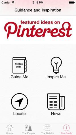 The Guide - iWedding Deluxe - iOS wedding planner