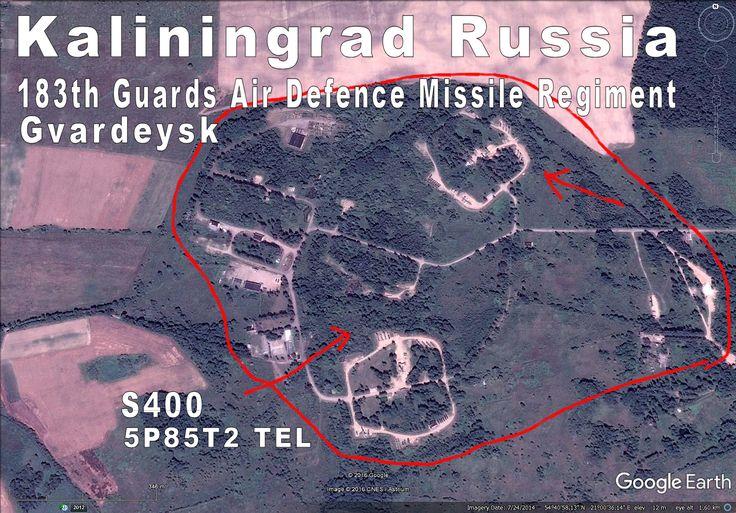183th AD RGT at Gvardeysk has already S400 missiles.