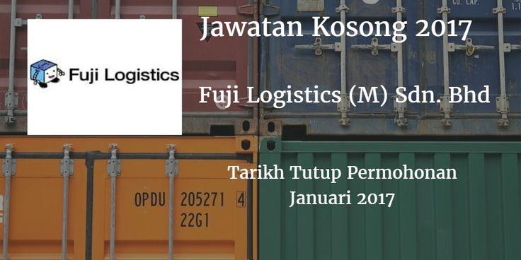 Jawatan Kosong Fuji Logistics (M) Sdn. Bhd Januari 2017  Fuji Logistics (M) Sdn. Bhd mencari calon-calon yang sesuai untuk mengisi kekosongan jawatan Fuji Logistics (M) Sdn. Bhd terkini 2017.  Jawatan Kosong Fuji Logistics (M) Sdn. Bhd Januari 2017  Warganegara Malaysia yang berminat bekerja di Fuji Logistics (M) Sdn. Bhd dan berkelayakan dipelawa untuk memohon sekarang juga. Jawatan KosongFuji Logistics (M) Sdn. Bhd Terkini Januari 2017: Admin/Personal Driver Requirement:  Candidate must…