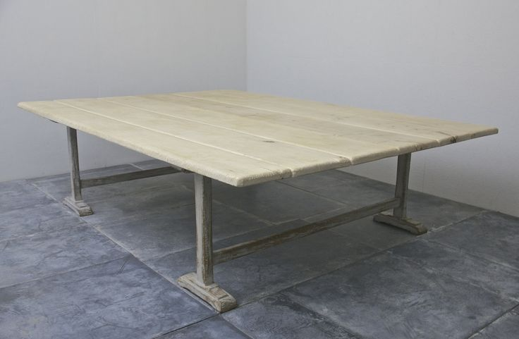 The Masseria Table - A boarded sycamore trestle table inspired by early vernacular tradition. http://www.matthewcox.com/product/the-masseria-table-a-boarded-sycamore-trestle-table-inspired-by-early-vernacular-tradition