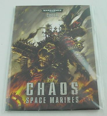 40K Rulebooks and Publications 90944: Warhammer 40K: Chaos Space Marine Codex (English) Gaw43-01-60-New -> BUY IT NOW ONLY: $39.89 on eBay!
