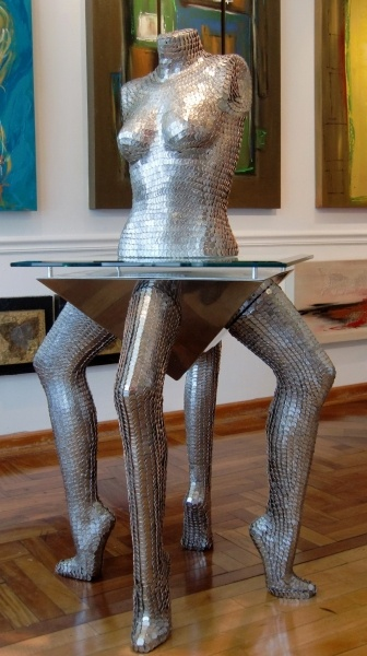Dime Table and Torso - Art Fusion Galleries by William Braemer