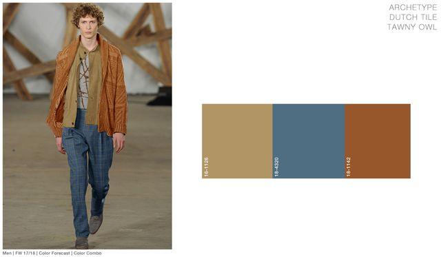 #FashionSnoops FW 17/18 color on #WeConnectFashion. Men's: Archetype - Soul Earth Tones Palette combo