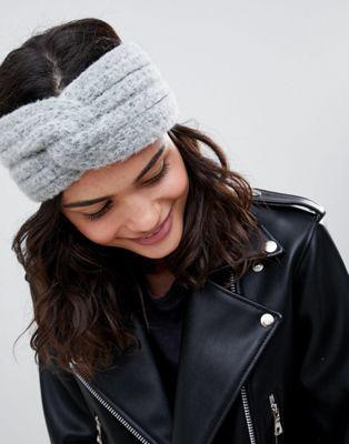 7de0af2d46b DESIGN fluffy knit headband in 2019