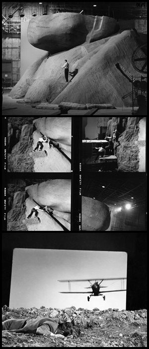 """on the set of """"north by northwest"""""""